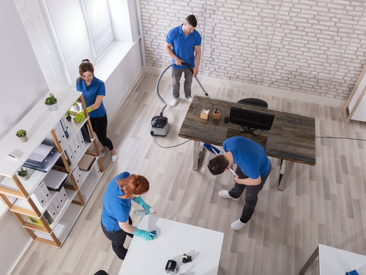 Top 5 benefits in hiring a commercial cleaning service for your business