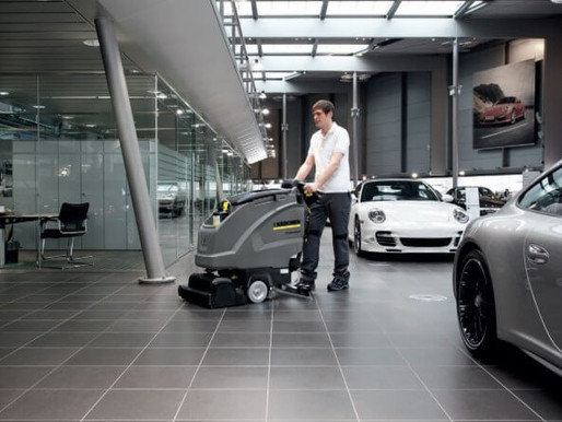 Why showrooms are best cleaned with a professional cleaning company?