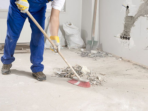Why you should hire a cleaning company for post construction cleaning?