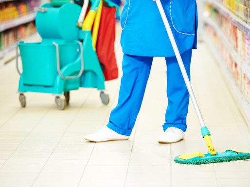 Does your retail stores must need a professional cleaner?