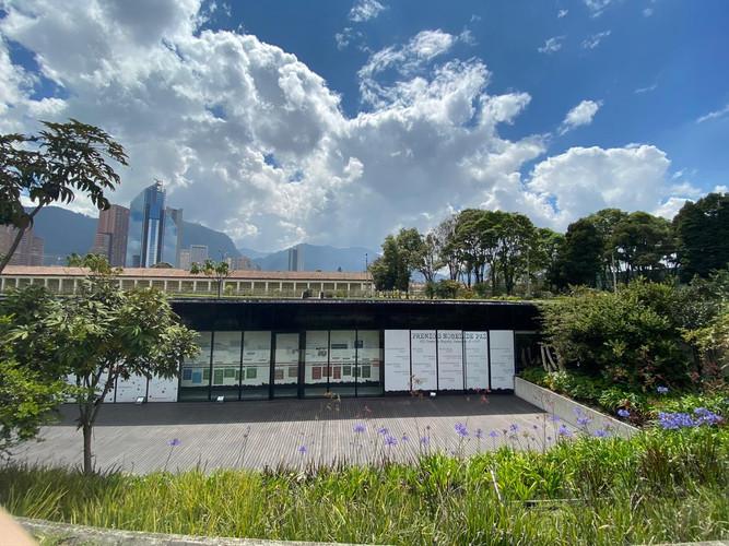 Cdmh 4: Instalación del piso inferior en el Centre de Memoria Histórica Nacional. Aún no se logra ver la totalidad de los proyectos y obras que se exhibirán allí