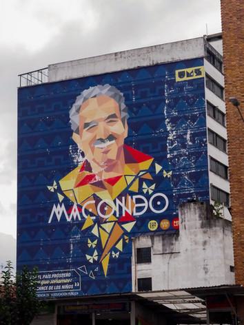 Mural Macondo. Ubicado en Carrera 10 #12