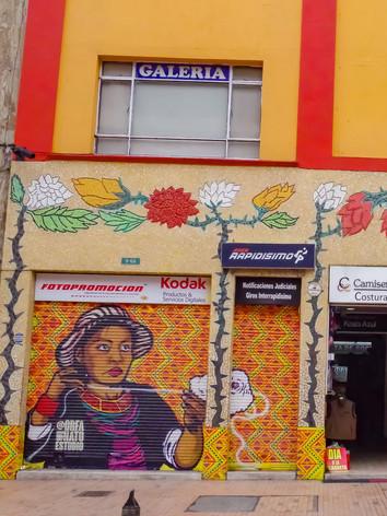 Arte urbano en Avenida Jimenez # 9-84