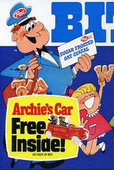 Carro de Archies en cajas de Alpha Bits