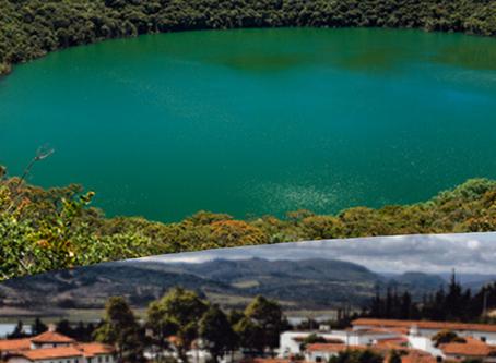 Guatavita Laguna + Pueblo