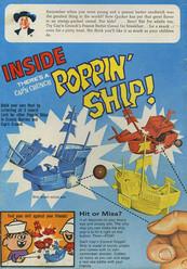 Barco en las cajas de Cap'n Crunch