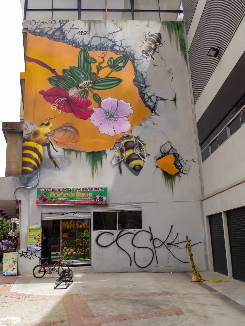 Mural ubicado en la Carrera 7 # 23-73