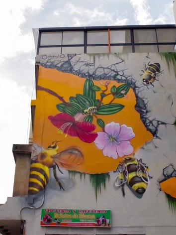 Arte urbano en Carrera 7 # 23-73