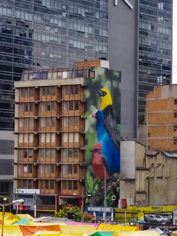 Arte urbano en Carrera 7 # 24-17