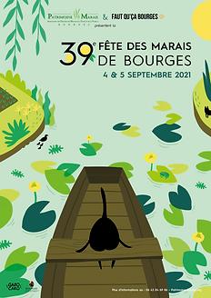 affiche 39ème fête des marais de Bourges.png