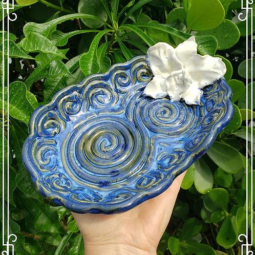 Handbuild coil  decorative dish