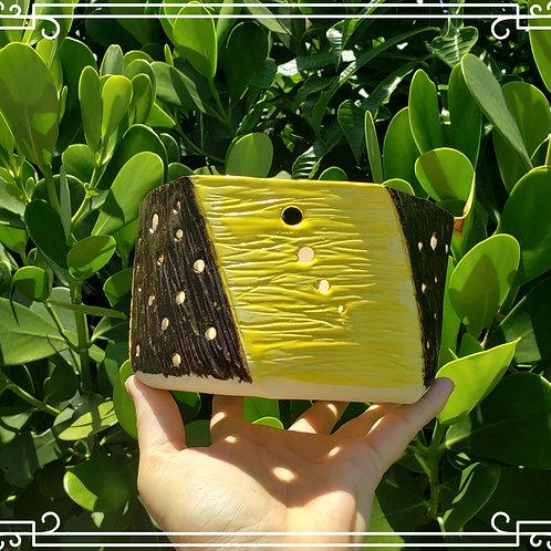 Hexagon Orchid pot/  basket