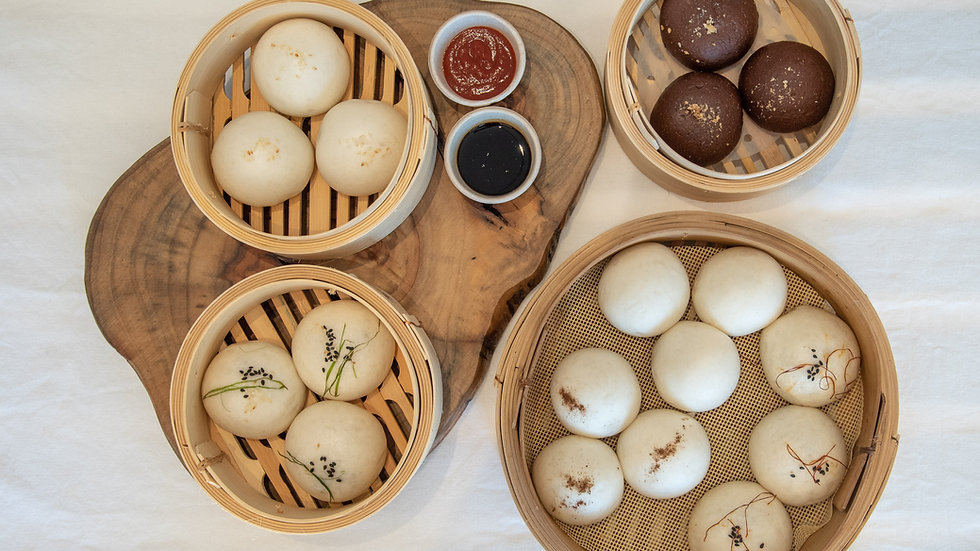 Hot Take-Away Steamed Buns