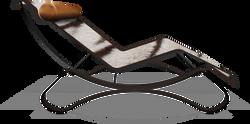 Chaise raquel zebra