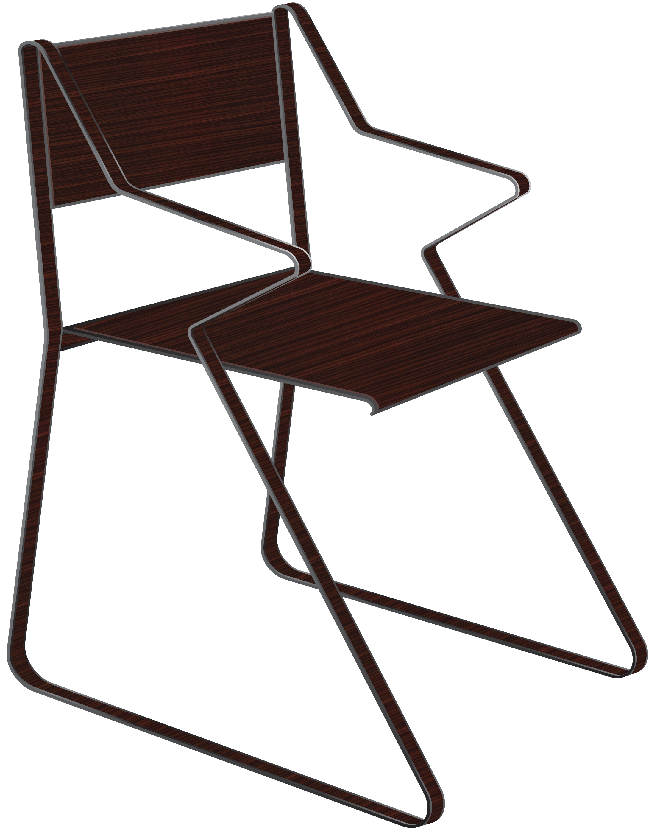 Cadeira Fox Chapa Laminada