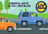 D/DA Motocar License ADC