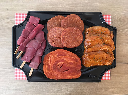 Compleet BBQ-pakket Da wordt um