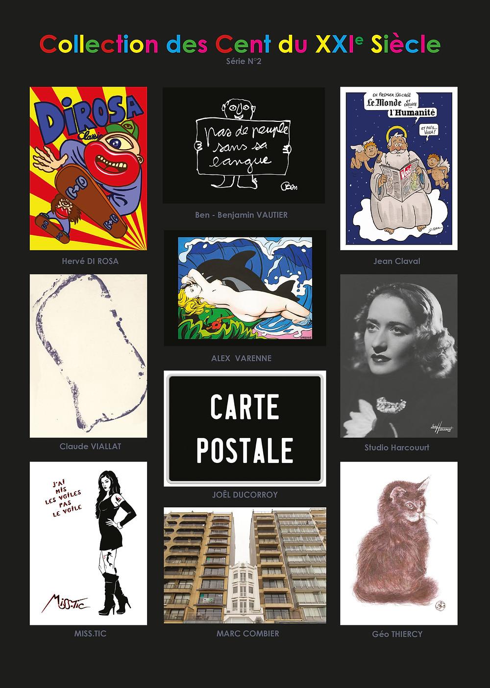 Série N°2 Composée de 10 cartes N° 1 à N°10 Imprimé en C.E.E. décembre 2018