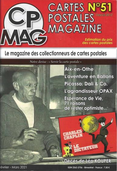 CP Mag numéro 51 couverture
