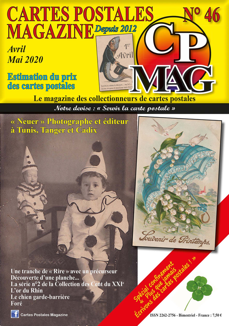 CP Mag N° 46 couverture