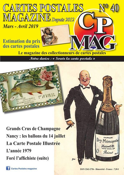 CP Mag N°40 couverture