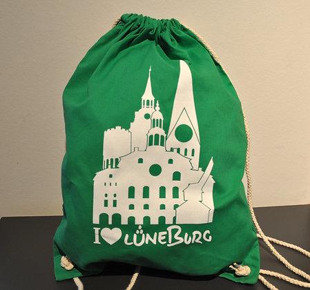 Lüneburger Turnbeutel (grün)