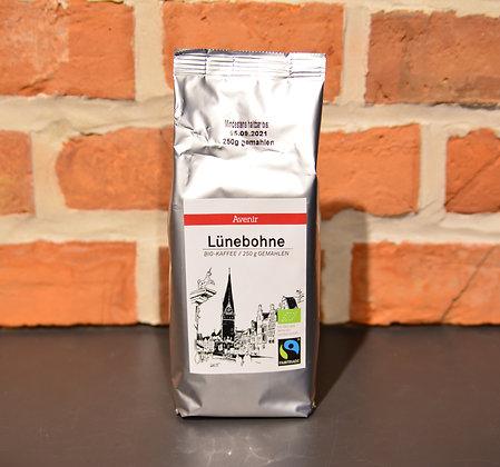 "Fairtrade-Kaffee ""Lünebohne"" (ganze Bohne!)"