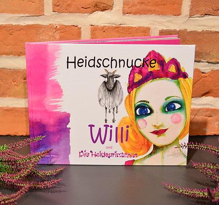 """Kinderbuch """"Heidschnucke Willi und die Heideprinzessin"""""""