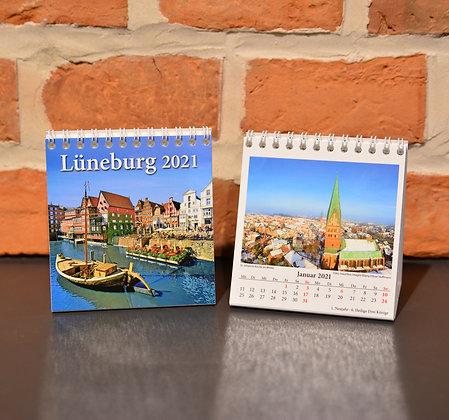 Tischkalender im Mini-Format Hansestadt Lüneburg 2021
