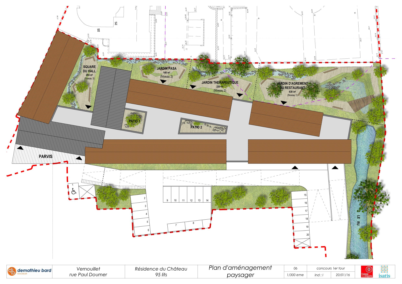 06-Plan Masse paysager