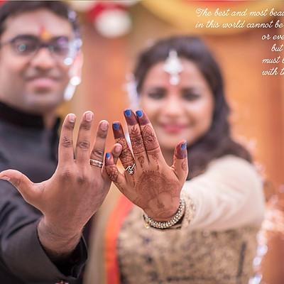 Engagement Tanmay & Sharanya