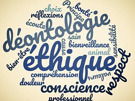 Compréhension, confiance et respect, fondements de l'éthique professionnelle