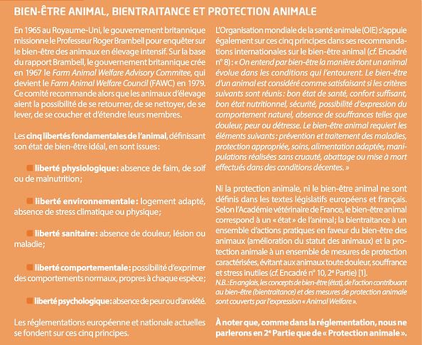 Chardon, H., Brugere, H., & Rosner, P. (2015). Le bien-être et la protection des animaux.