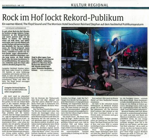 ROCK im Hof 2015 - the END (MIAMI VERSION) as of the DOORS in 1969!