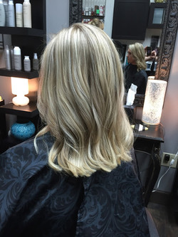Blonde Highlights and Lowlights
