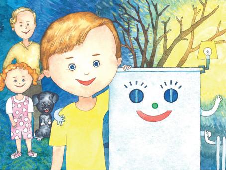 Hjelp oss med dine strømdata, og få en kjempeflott barnebok gratis!