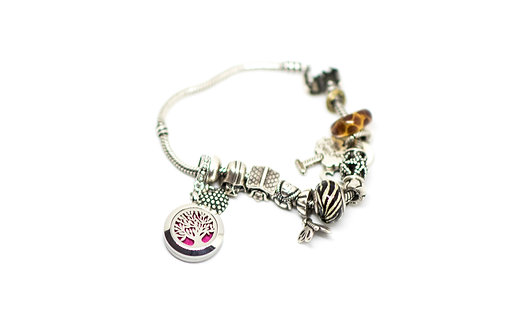 Tree of Life for Charm Bracelet (With Leather Bracelet)
