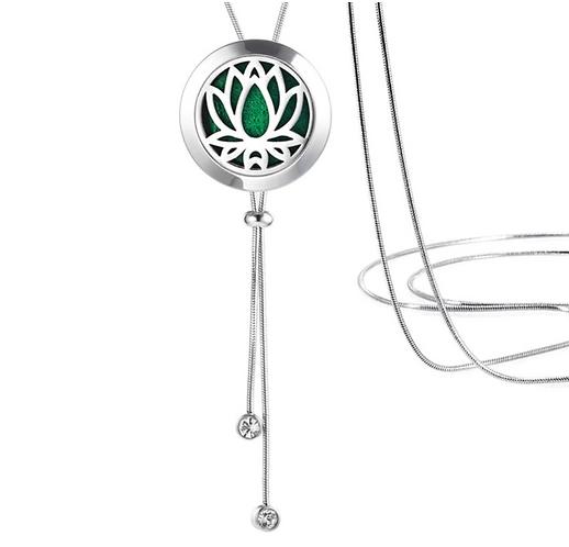 Adjustable Lotus Necklace