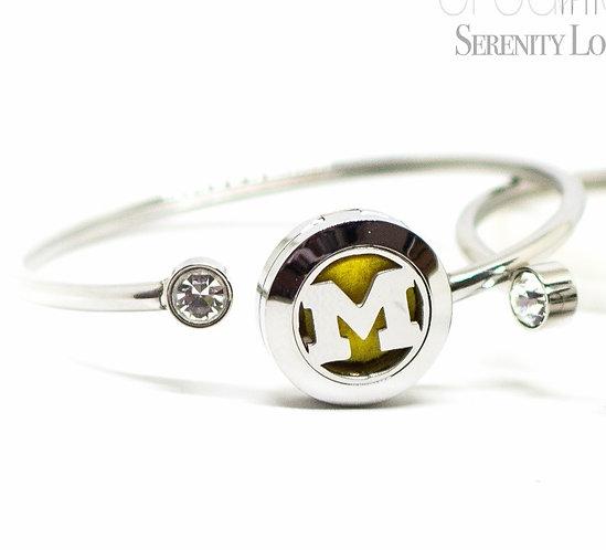 Michigan 'M' Bracelet