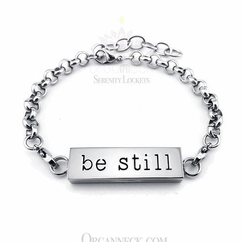 'Be Still' Bracelet