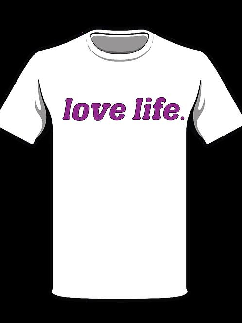 NEISHA NESHAE 'LOVE LIFE' CLASSIC TEE