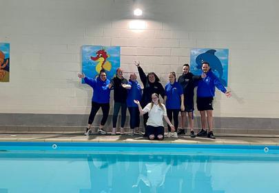 Super Swimmers Team photo