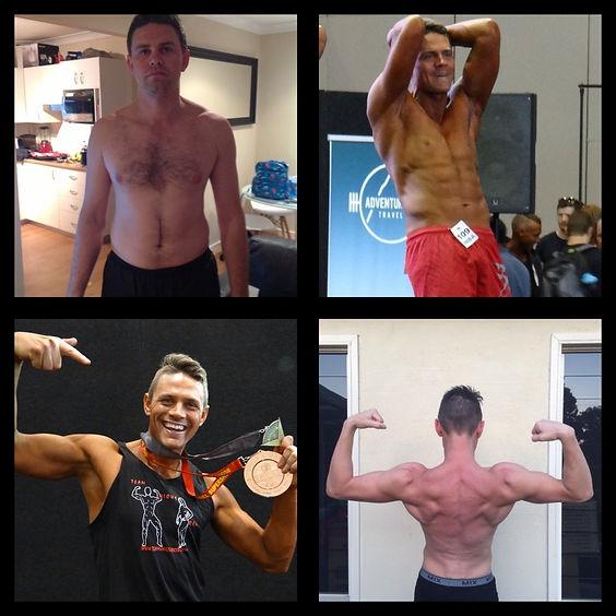 mens physique transformation