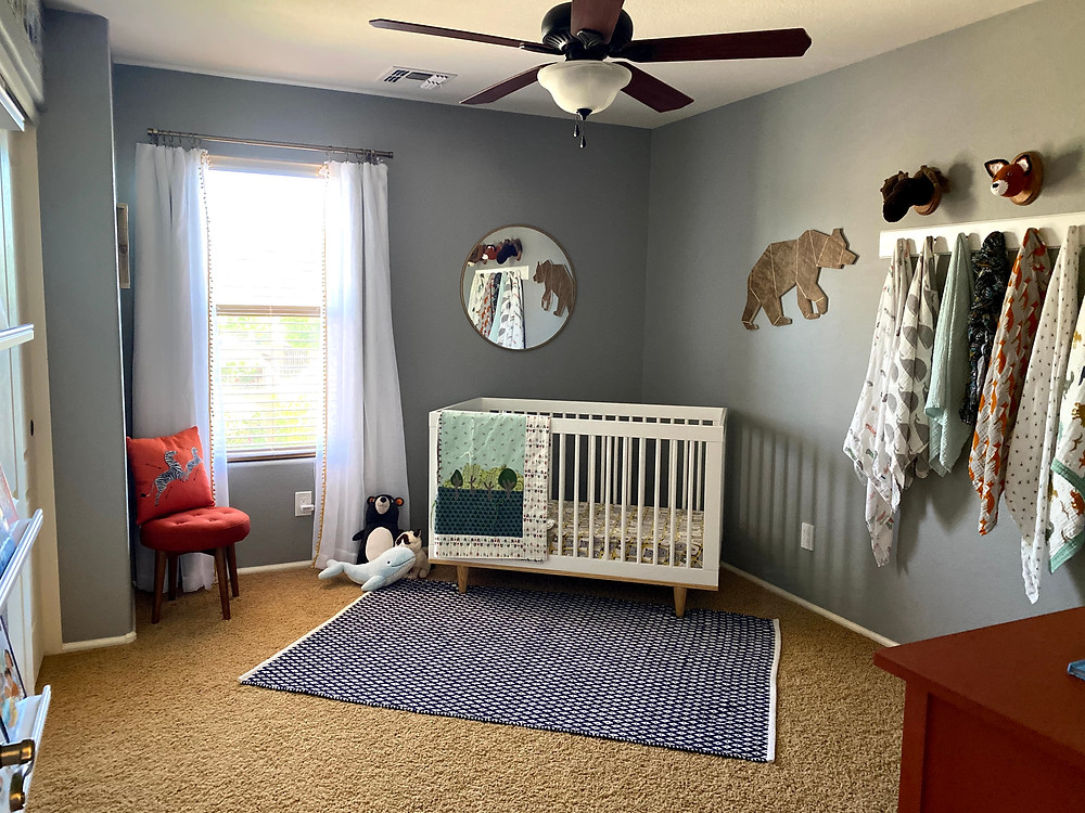 Our Wes Anderson Themed Nursery