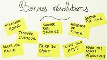 LES BONNES RÉSOLUTIONS DE LA NOUVELLE ANNÉE : COMMENT LES TENIR!