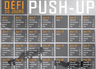 Un buste musclé en 30 jours : Le PUSH-UP Challenge!