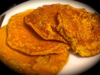 RECETTE : Pancake Courgette Curcuma