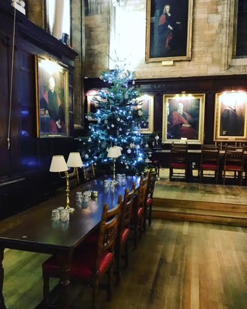 Christmas tree Balliol