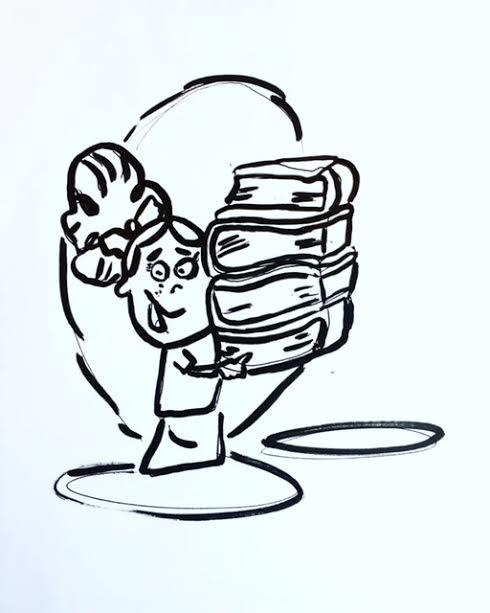 cartoon books