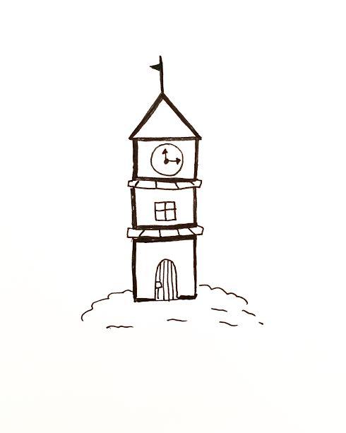 Tower cartoon